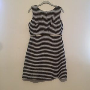 Romeo and Juliet couture striped dress